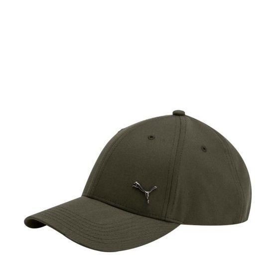4f668fbf38c4c Gorra Puma Verde Militar Con Logo Metalizado Puma -   649.00 en ...