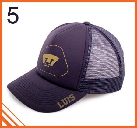 gorra pumas unam personalizada