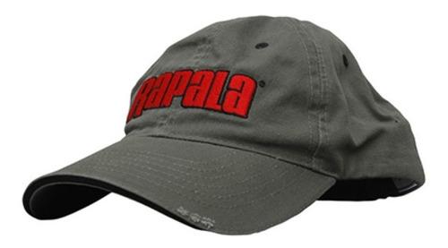 gorra rapala 43goragr gris para pesca o caceria + envio