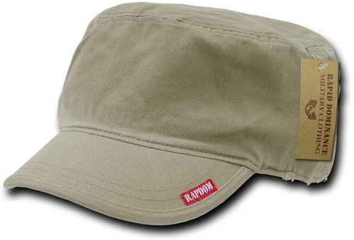 gorra rapid dominance militar extra grande color khaki