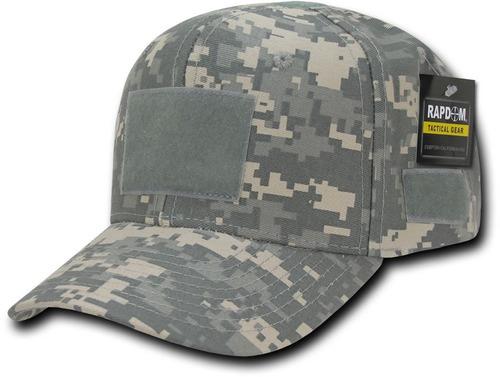 gorra rápida dominance velcros tactical cap acu dijital usa
