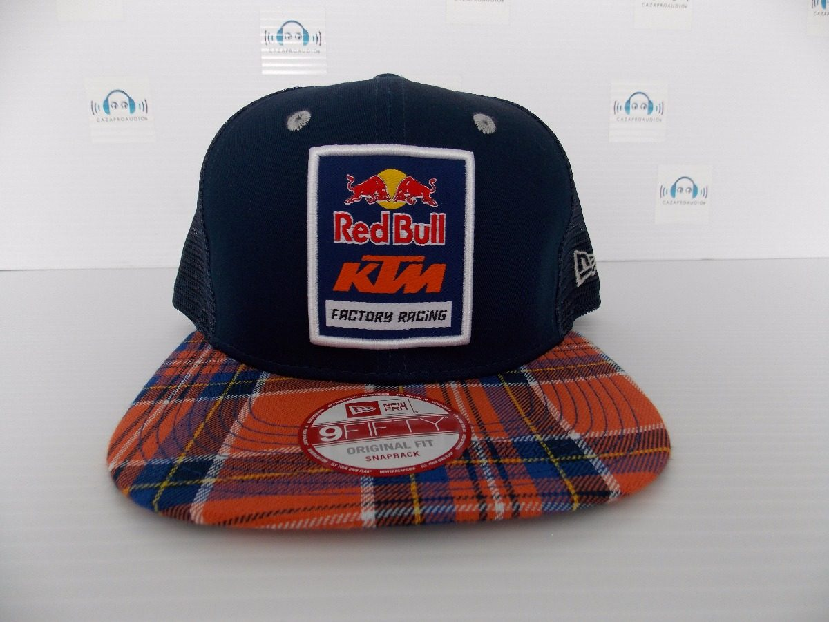 gorra red bull ktm factory racing plaid trucker 100%original. Cargando zoom. 4a7962afcc2
