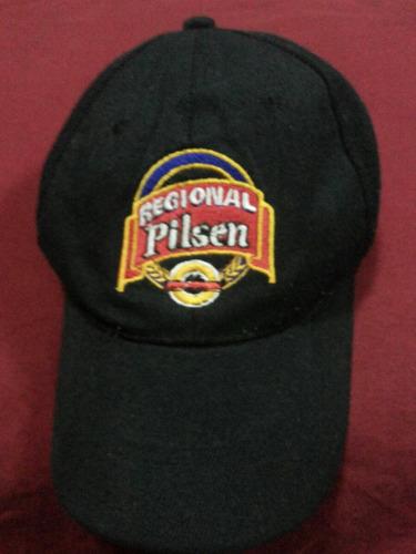 gorra regional pilsen para colección usada