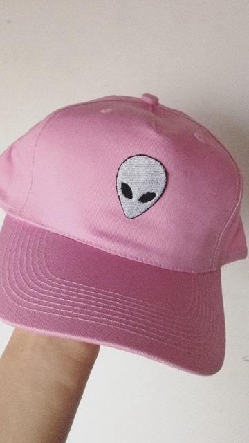 Gorra Rosa Alien Parche Bordado Aliens Planeta Ovni Universo -   295 ... 6324241f939