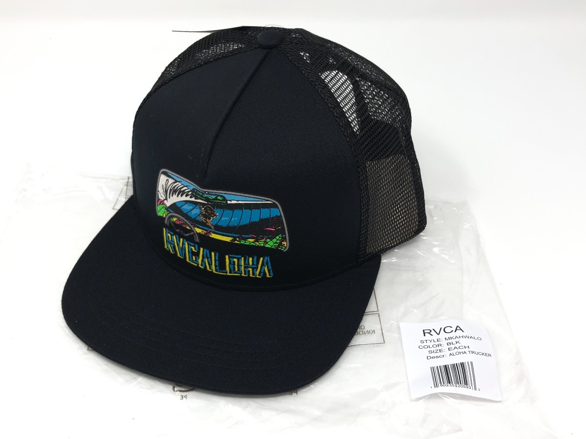 4a670a81ea213 ... reduced gorra rvca aloha trucker hat 100 original. cargando zoom. 01613  b4b47