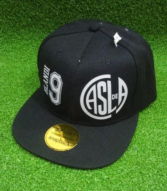 998c5c850a4b9 Gorra San Lorenzo Snapback Negra Jugadores -   399