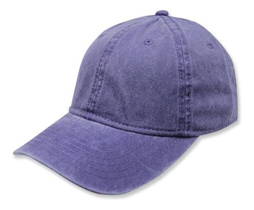 gorra sc copa baja algodon morado pigmentado unitalla