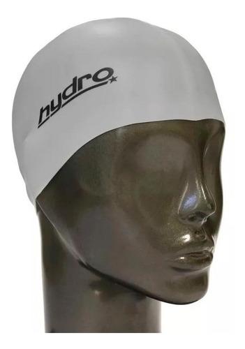 gorra silicona natacion hydro pileta + estuche adultos