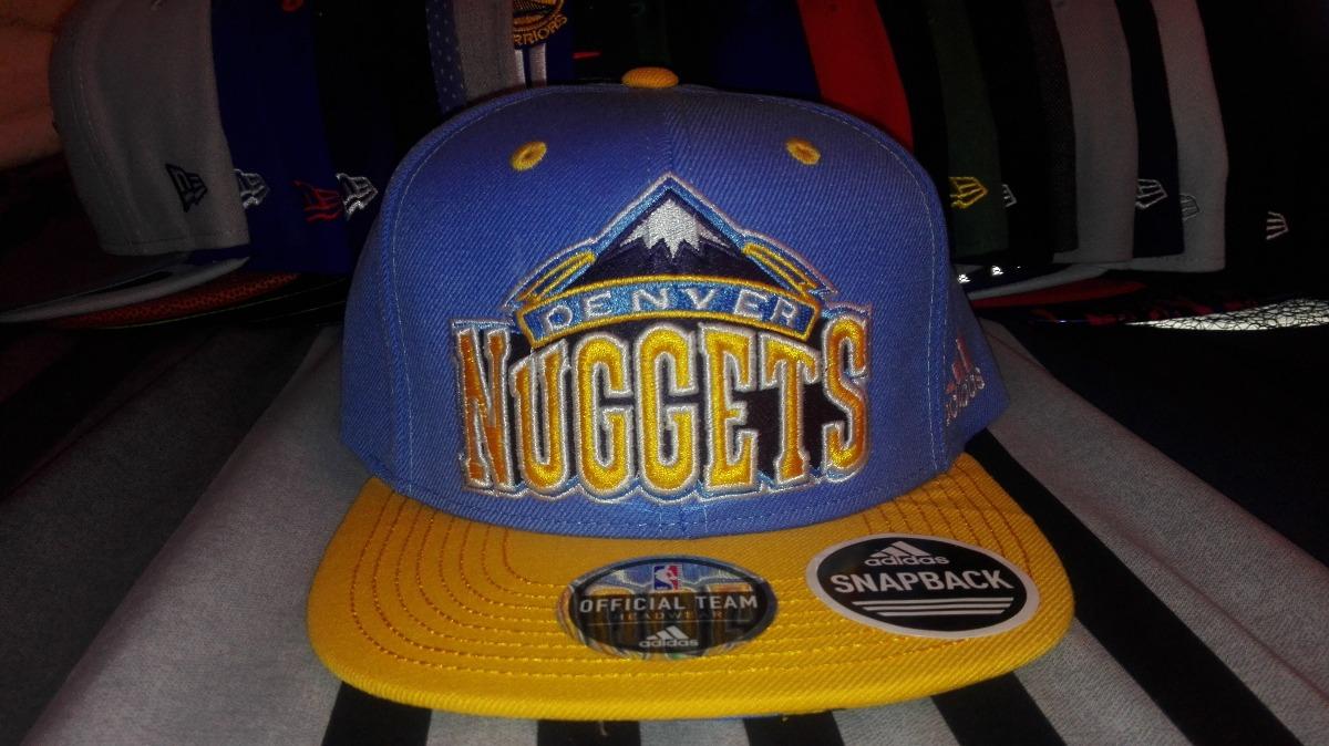 9073a424c2daa Gorra Snapback adidas Denver Nuggets -   650.00 en Mercado Libre
