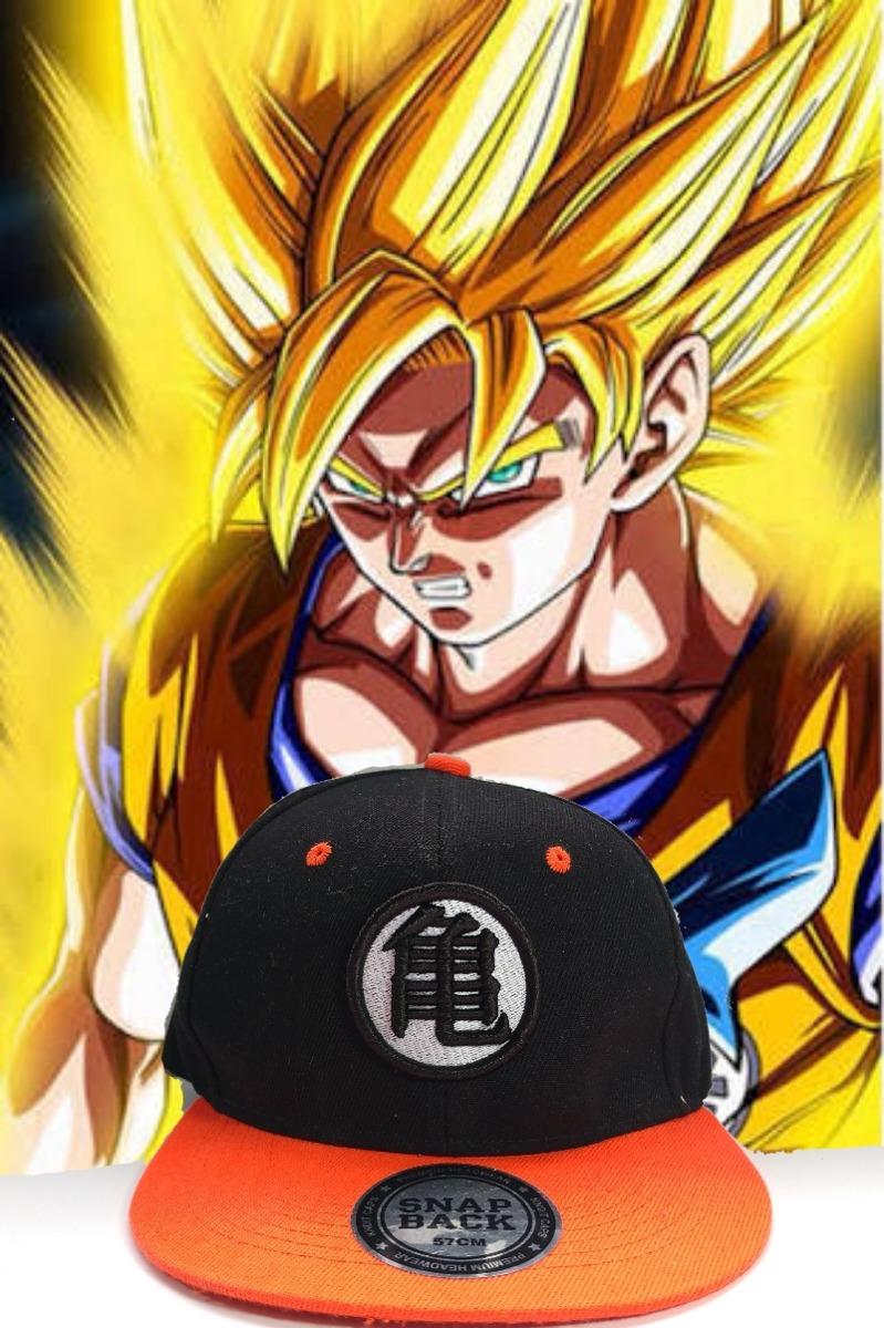 Gorra Snapback Dragon Ball -   150.00 en Mercado Libre 6d6a019c800