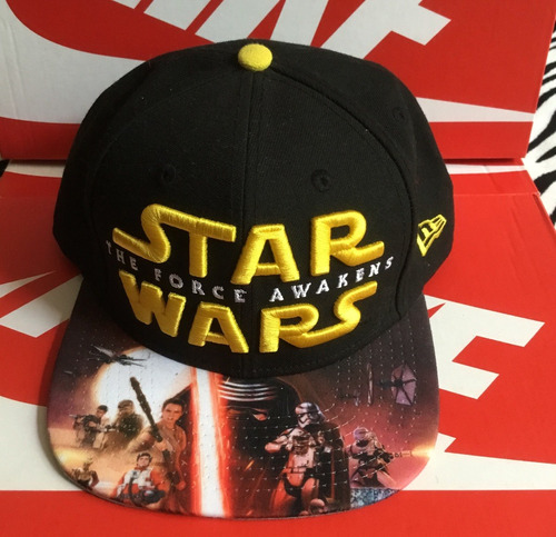 gorra snapback new era star wars 100% original con envío