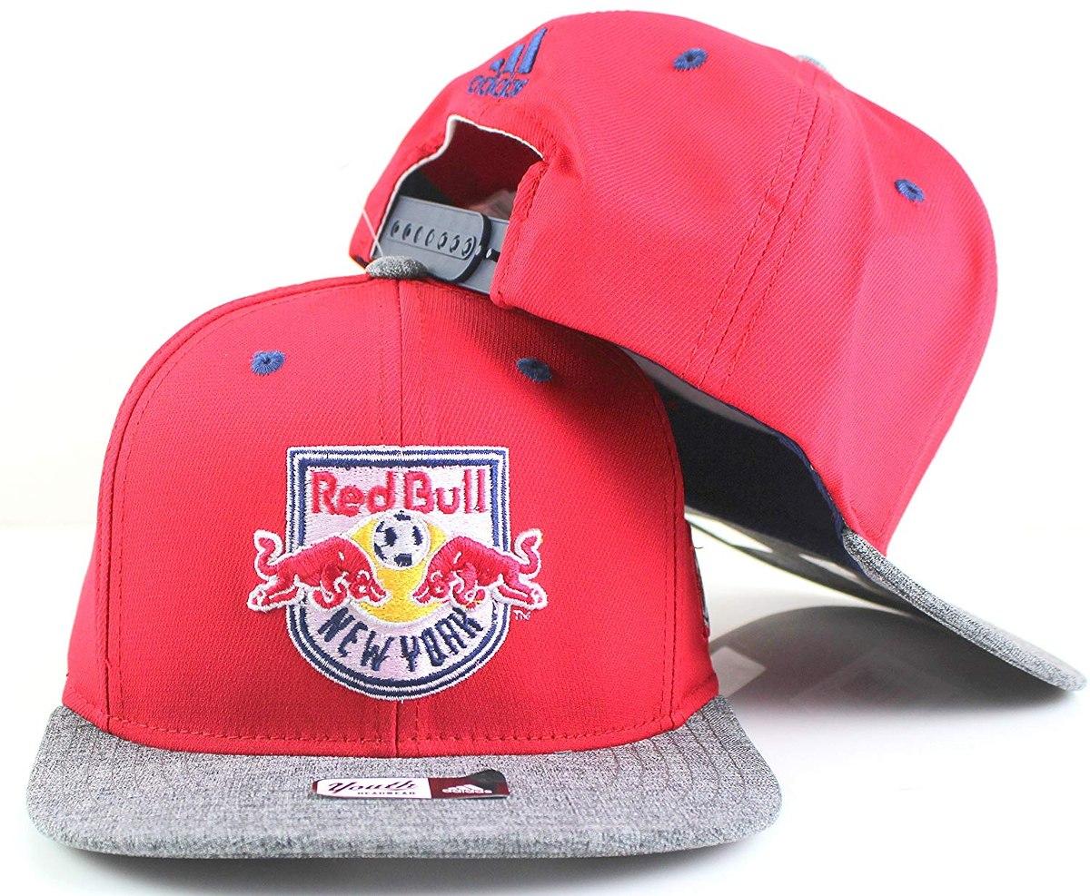 Gorra Snapback New Jersey Red Bulls Mls Color Rojo adidas ... 48be8aae2d1