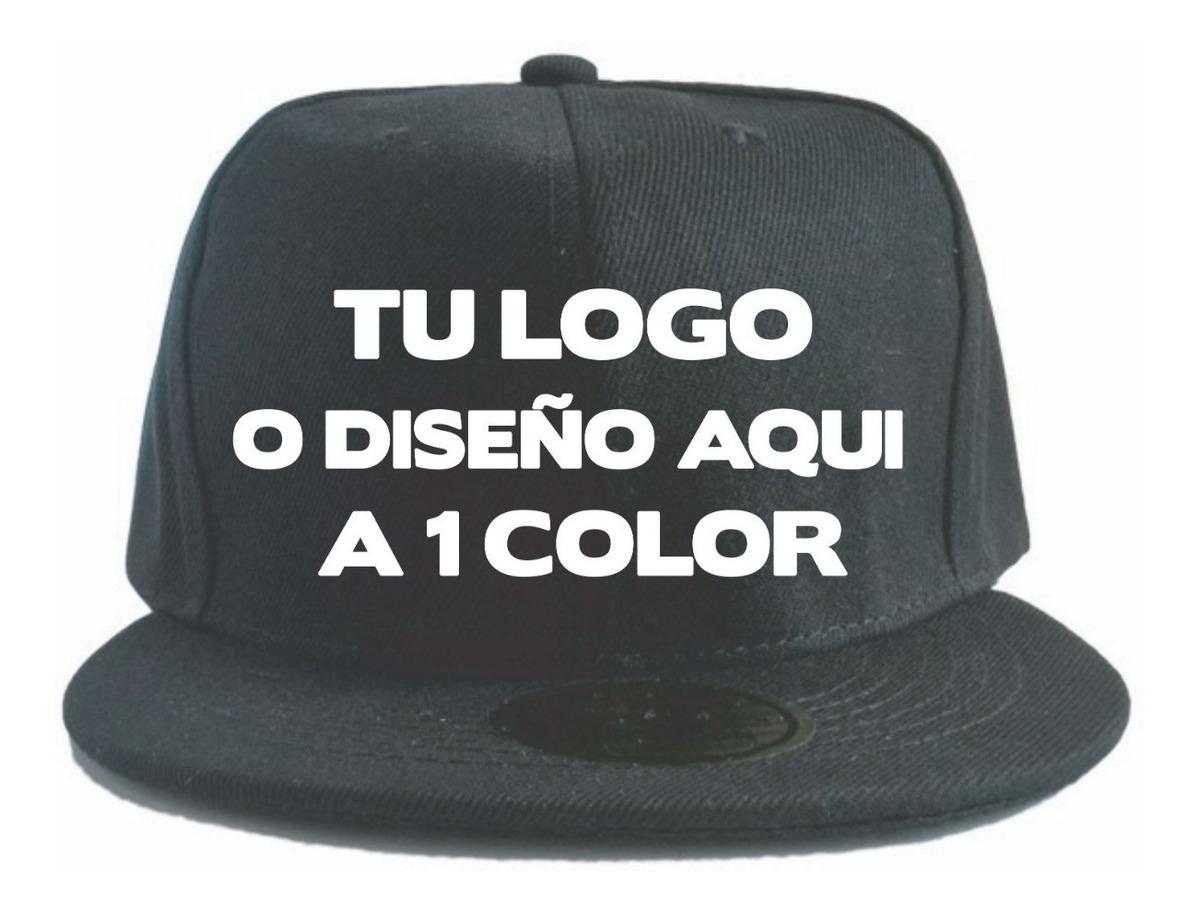 1e0f4fc42fbd Gorra Snapback Personalizada Con Vinil A 1 Color Broche