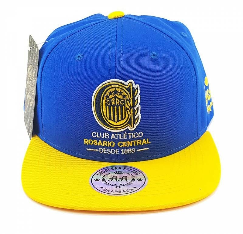 b698adb0cd4ff Gorra Snapback Rosario Central Lic. Oficial Double Aa Fitted -   990 ...