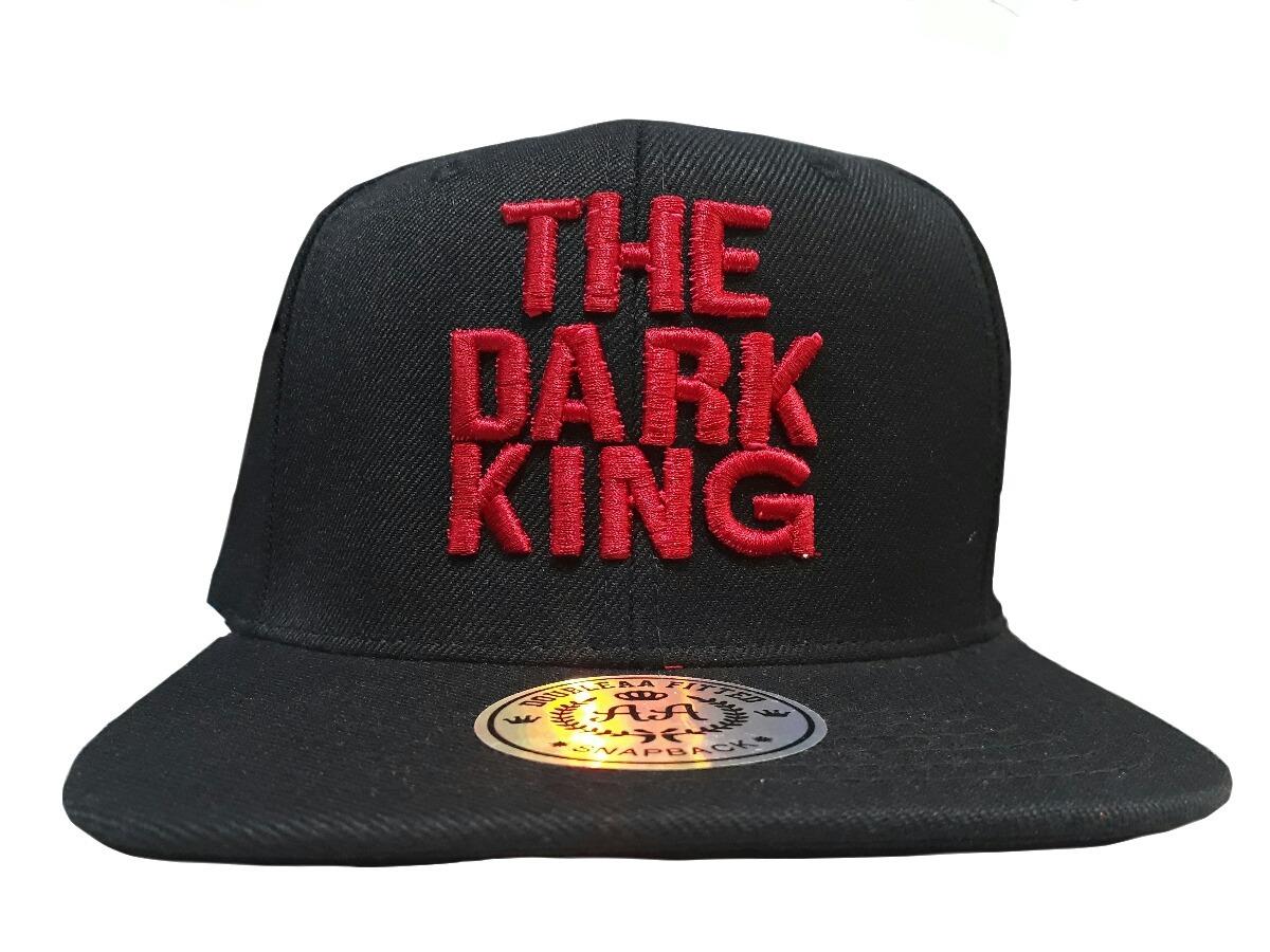 gorra snapback vicera recta logo rojo hip hop the dark king. Cargando zoom. 5dfcc1d5fcc