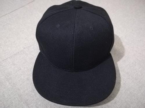 gorra snapback visera plana broche trasero varios colores