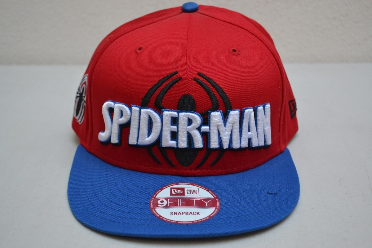 Gorra Spider Man Roja Leyenda Logo Original New Era 9 Fifty ... 338d813d7b2