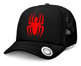 1f9eaccccfb5 Gorra Spiderman Pelicula Gorra Trucker Negra