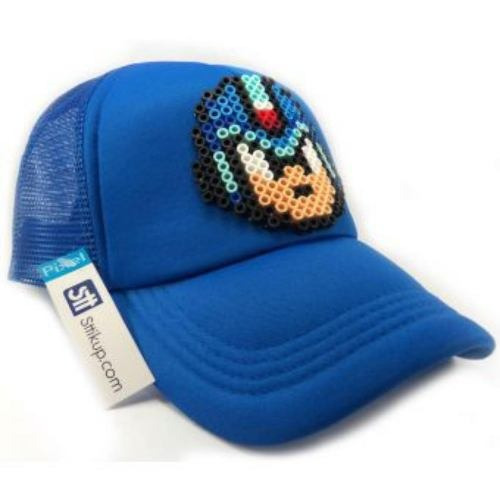 gorra sttikup megaman pixel 3d-azul