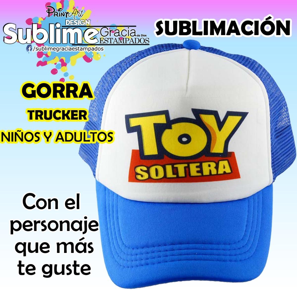 Gorra Sublimada -   60.00 en Mercado Libre 3df467ed342