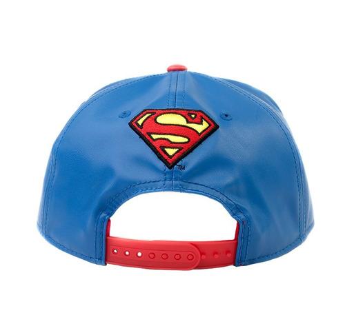 gorra superman snapback cap by mascara de latex