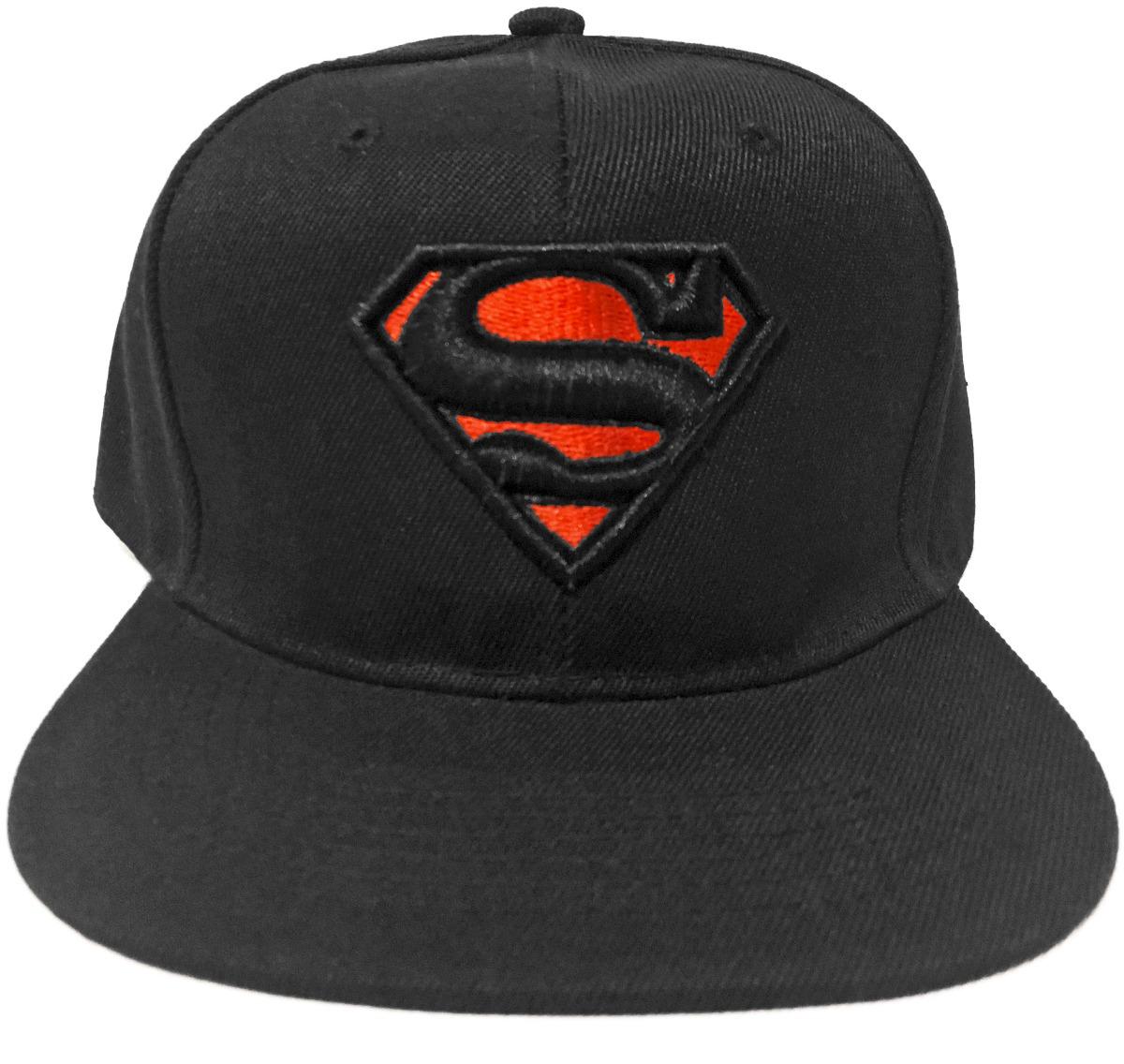 debb395b3b2ee gorra superman superheroe bordada negra black envio gratis. Cargando zoom.