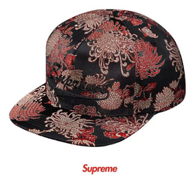 4eba97658 Gorra Supreme Eastern Floral 5 Panel Black Snapback Original