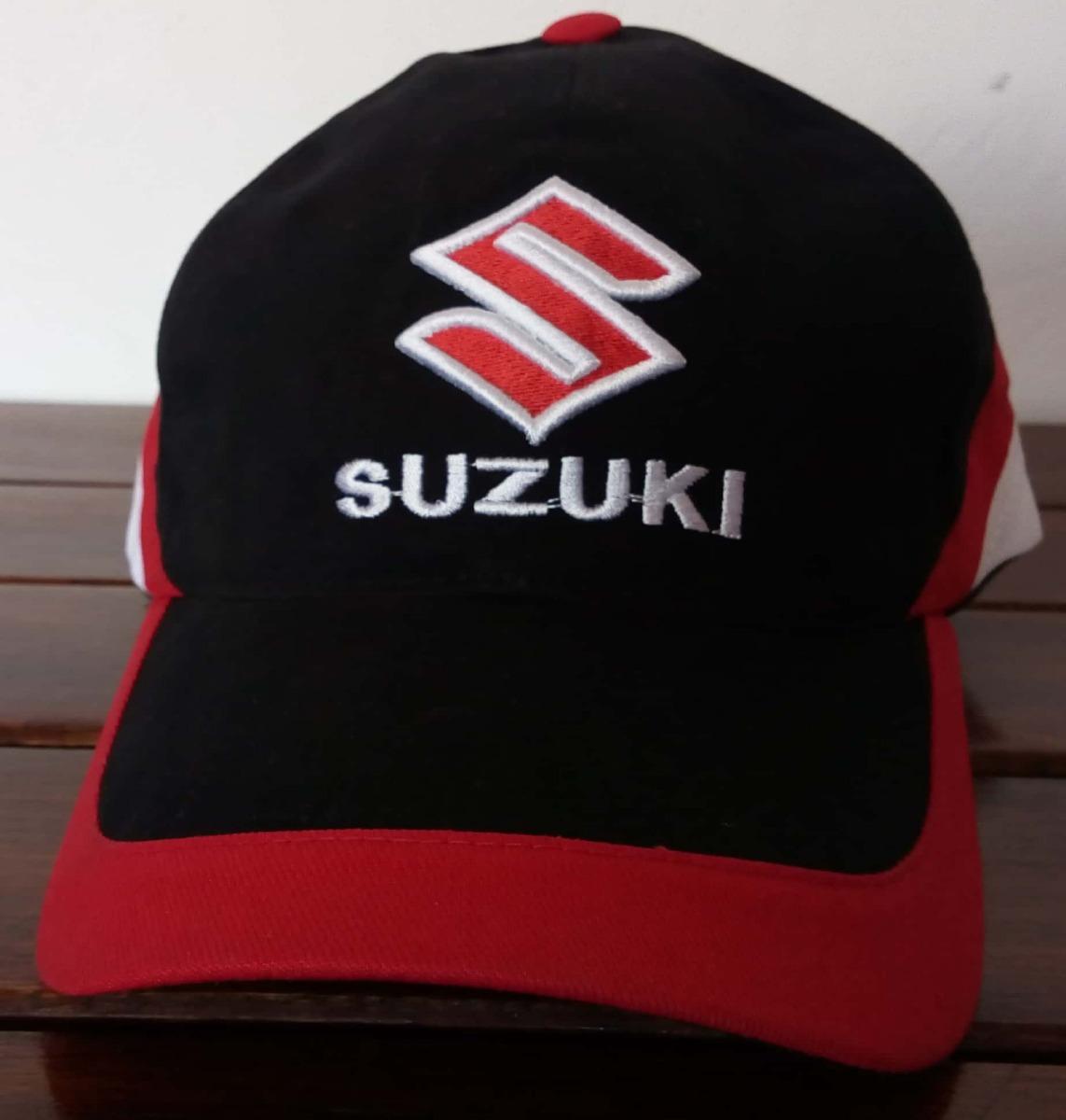 gorra suzuki negra y roja bordada. Cargando zoom. 8036106f111
