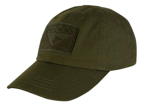 gorra táctica color verde marca condor original