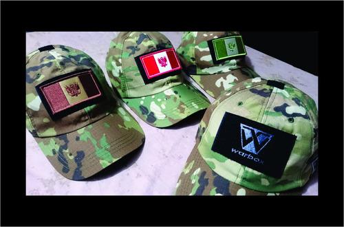 gorra táctica warbox /militar / camuflada/ envio a todo peru