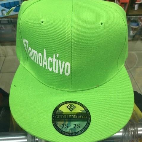 gorra #tamoactivo original plana