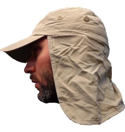 gorra tapa nuca cuello visera pesca legionario caza camping