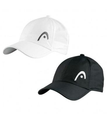 adf9dac370f78 Gorra Head Tenis Padel Squash Microfibra Pro Player En Negro -   599 ...