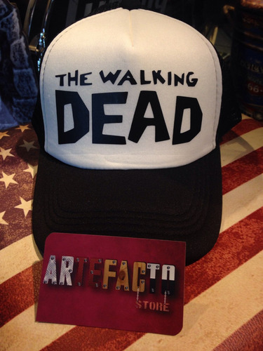 gorra the walking dead