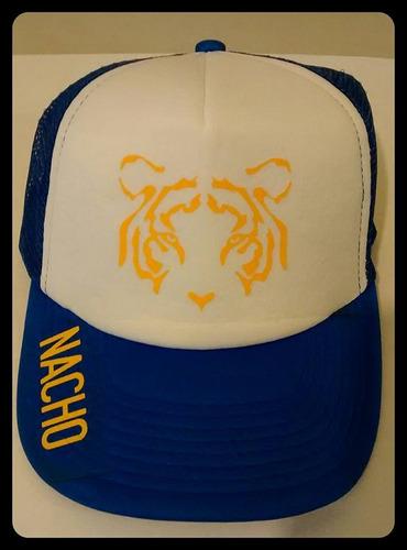gorra tigres personalizada