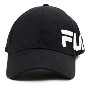 559fd0ae90e7 Gorra Tipo Béisbol Negra Con Logo - Fila