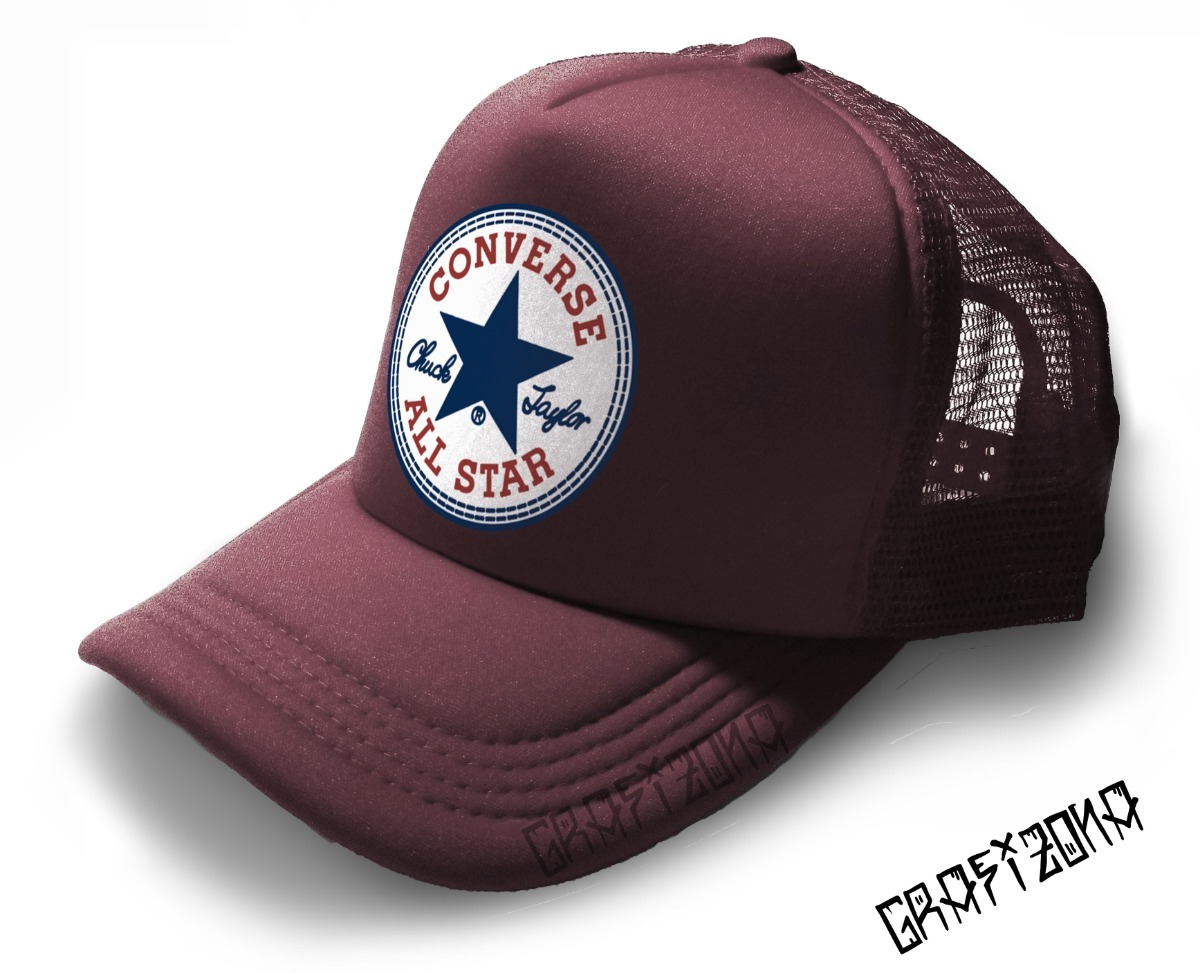Gorra Tipo Converse All Star Trucker Retro Rock Punk Moda -   270 f278f9a599a