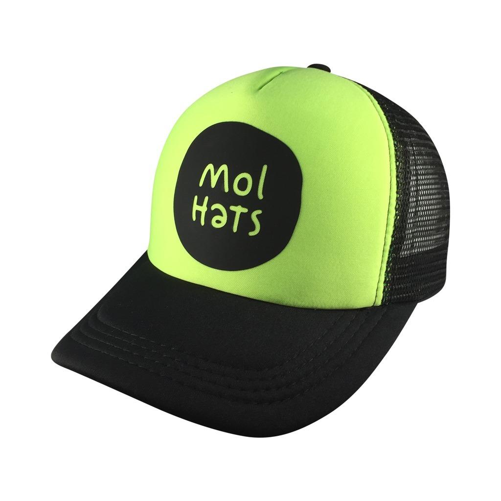 gorra tipo trucker logo mol hats vinilo calidad premium fluo. Cargando zoom. 439adb679c2