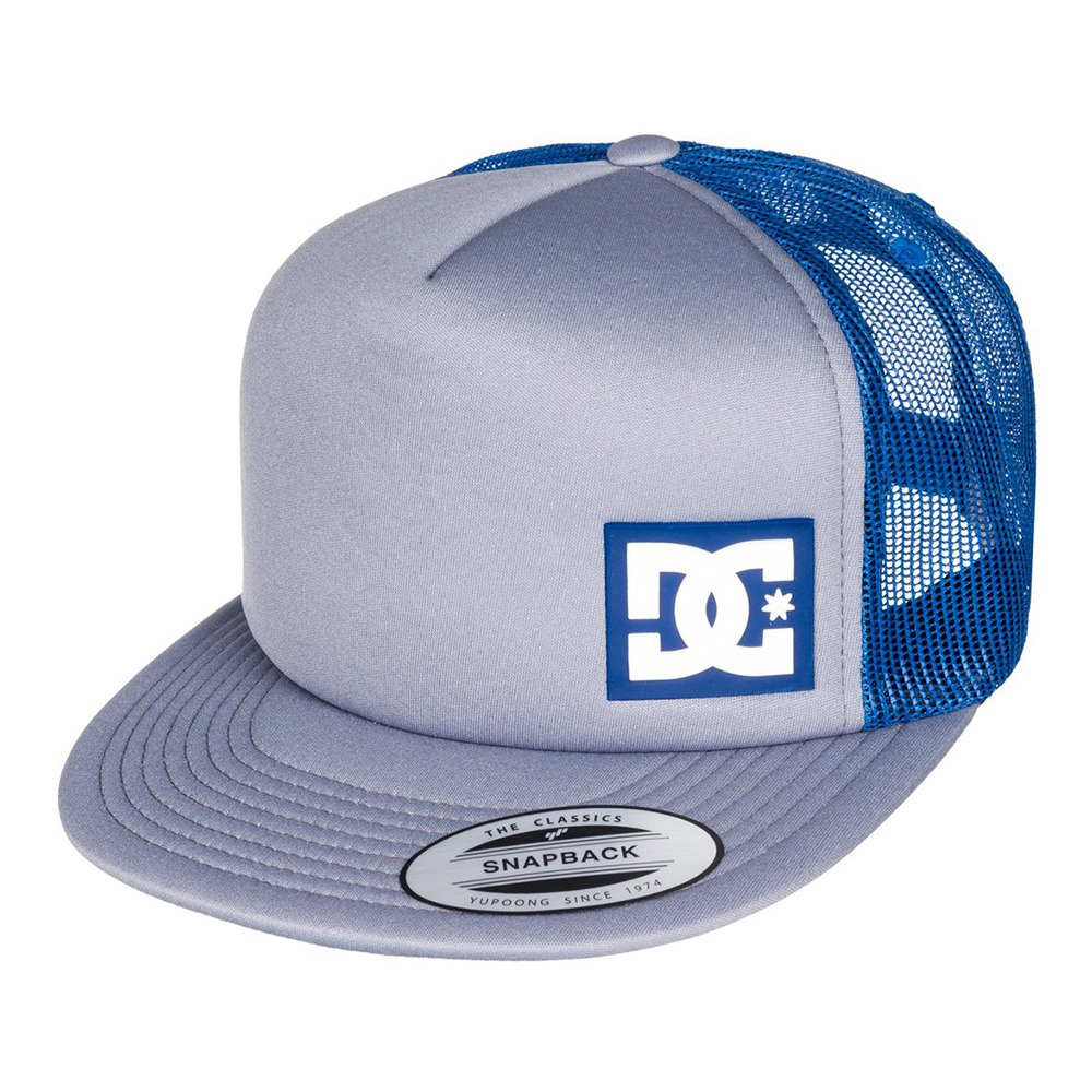 06858eccc00b6 gorra tipo trucker logotipo frontal logo dc azul dc shoes. Cargando zoom.
