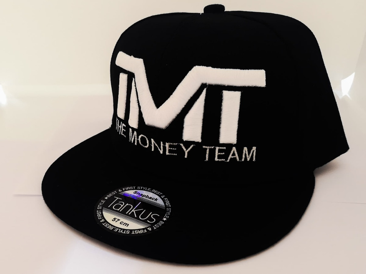 Gorra Tmt The Money Team Negro Mayweather -   149.00 en Mercado Libre a010f9b818a