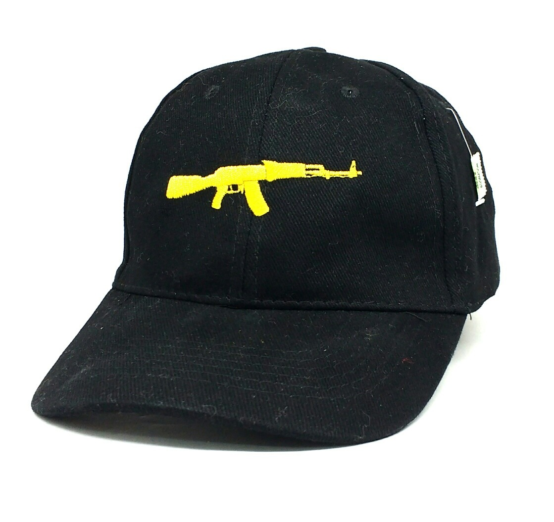Gorra Trap Gold Arma Ak 47 Hebilla Regulable Negra Visera -   480 13a724d15ab