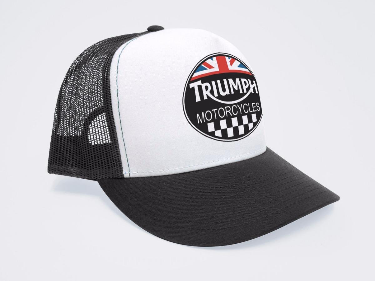 gorra triumph trucker personalizada. Cargando zoom. fa8c6f87272