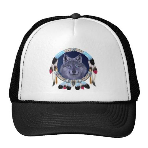 gorra trucker camionero dreamwolf diseños