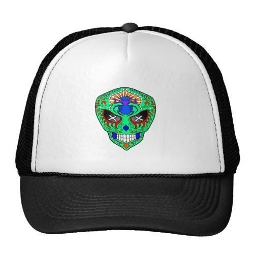 gorra trucker camionero extranjero del cráneo del azúcar co