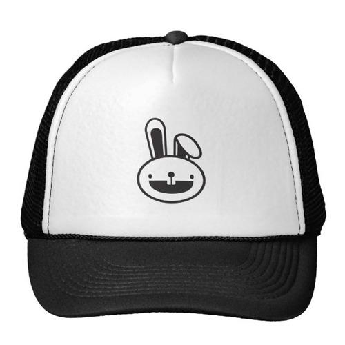 gorra trucker camionero funny_rabbit