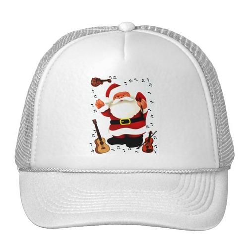 gorra trucker camionero navidad joy_ diseños