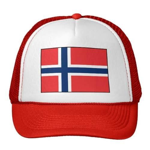 gorra trucker camionero noruega bandera noruega