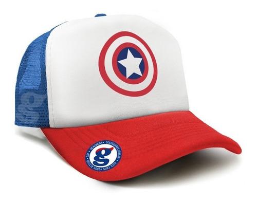 gorra trucker capitán america marvel vengadores