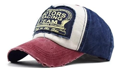 gorra trucker custom regulable jean vintage estampada import