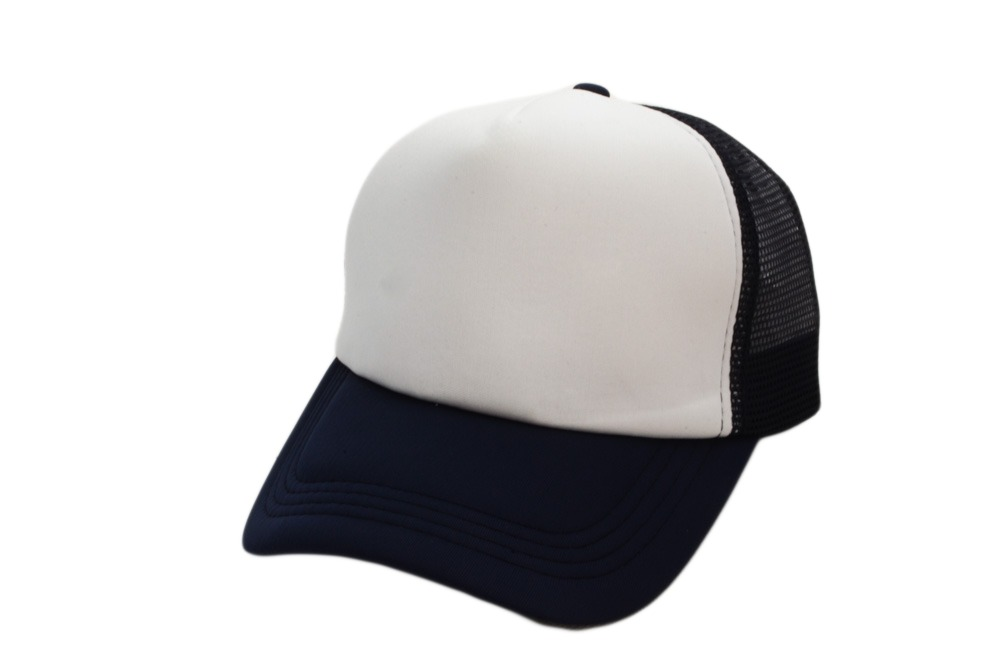 gorra trucker frente blanco sublimables gorra azul marino. Cargando zoom. 47ed0831018